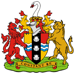 Bedfordshire County Council's coat of arms.